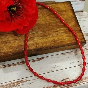 Jewelry - Red Sea Coral Beaded Necklace